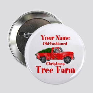 "Custom Tree Farm 2.25"" Button"