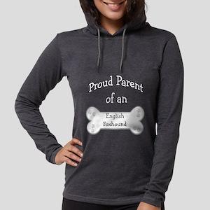 EnglishFoxhoundParentdark Womens Hooded Shirt