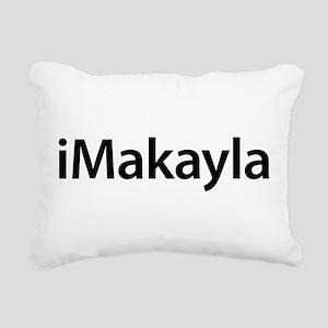 iMakayla Rectangular Canvas Pillow