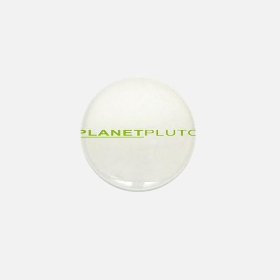 Planet Pluto Mini Button