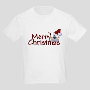 Merry Christmas Kids Light T-Shirt