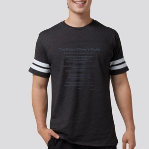 Poker Psalm Mens Football Shirt