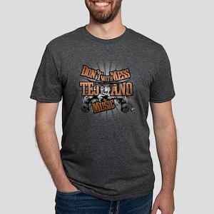 2-dontmesscolor Mens Tri-blend T-Shirt