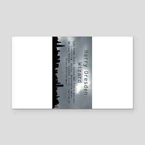 Harry Dresden Business Card Rectangle Car Magnet