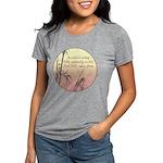 haiku_10x10.png Womens Tri-blend T-Shirt