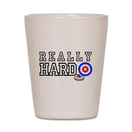 Really-Hard3 Shot Glass