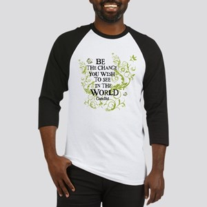 Be the Change - Green - Light Baseball Jersey