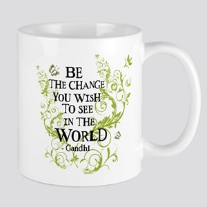 Be the Change - Green - Light Mug