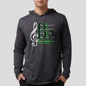 B Flat-ulent Mens Hooded Shirt