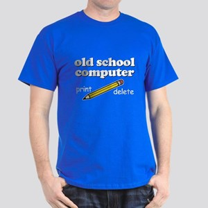 Funny! - Old School Computer Dark T-Shirt