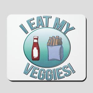I Eat My Veggies cp Mousepad