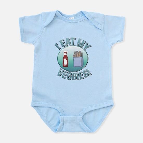 I Eat My Veggies cp.png Infant Bodysuit