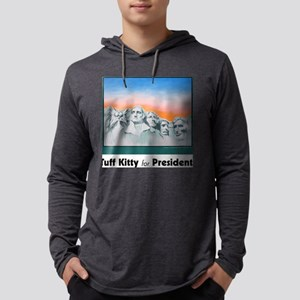 funny cat mount rushmore_tee Mens Hooded Shirt