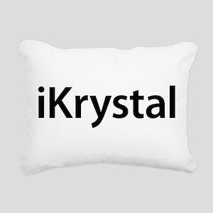 iKrystal Rectangular Canvas Pillow