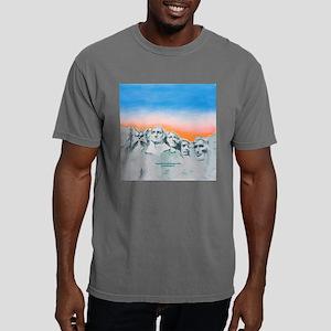 funny cat mount rushmore Mens Comfort Colors Shirt
