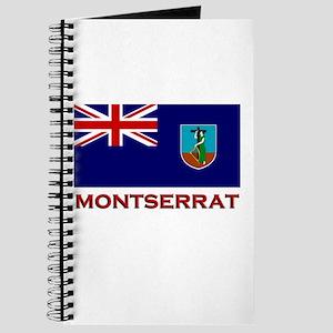 Montserrat Flag Merchandise Journal