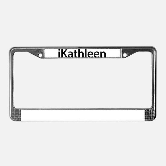 iKathleen License Plate Frame