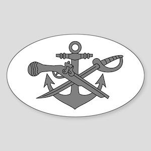 SWCC (2) Sticker (Oval)