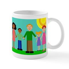 People Christmas Mug