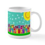 Wintry Cityscape Mug