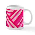 pink abstract Mug
