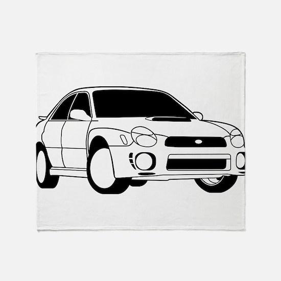 Subarus Throw Blanket