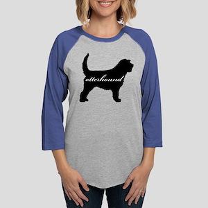 otterhound Womens Baseball Tee