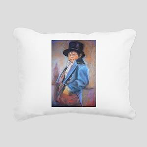 Pick Pocket Rectangular Canvas Pillow