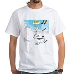Polar Bears and Reindeer White T-Shirt