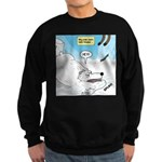 Polar Bears and Reindeer Sweatshirt (dark)