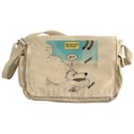 Polar Bears and Reindeer Messenger Bag