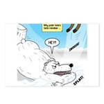 Polar Bears and Reindeer Postcards (Package of 8)