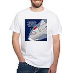 Santa Airlines White T-Shirt