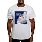 Santa Airlines Light T-Shirt