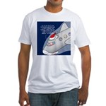 Santa Airlines Fitted T-Shirt