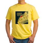 Santa Airlines Yellow T-Shirt