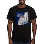 Santa Airlines Men's Fitted T-Shirt (dark)