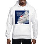 Santa Airlines Hooded Sweatshirt