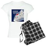 Santa Airlines Women's Light Pajamas