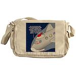 Santa Airlines Messenger Bag