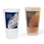 Santa Airlines Drinking Glass