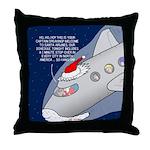 Santa Airlines Throw Pillow