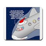 Santa Airlines Mousepad