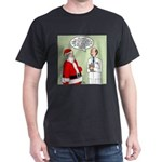 Santa's Tummy Tuck Dark T-Shirt