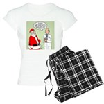 Santa's Tummy Tuck Women's Light Pajamas