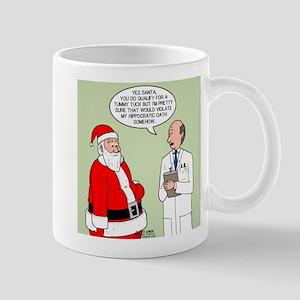 Santa's Tummy Tuck Mug