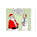 Santa's Tummy Tuck Postcards (Package of 8)