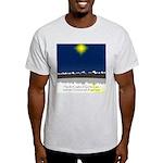Christmas Star on Snowy Night Light T-Shirt