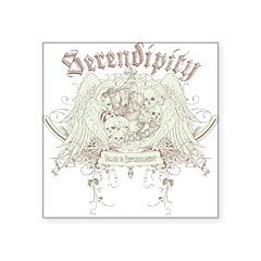 Serendipity Square Sticker 3