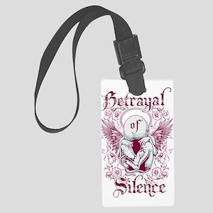 Betrayal of Silence Large Luggage Tag